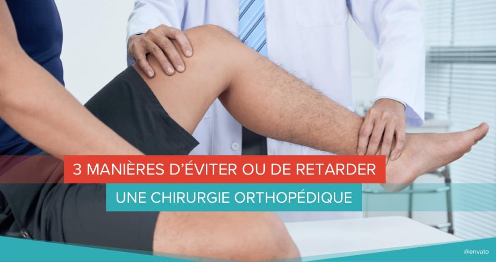 orthopédie chirurgie