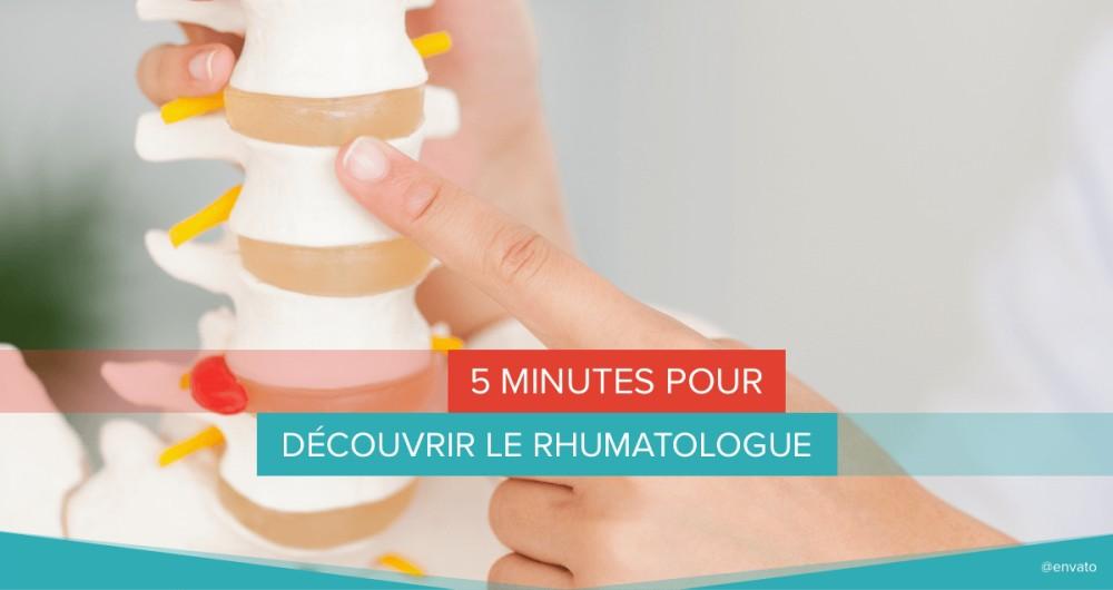5 minutes pour découvrir le rhumatologue