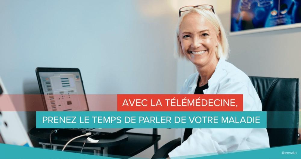 télémédecine temps parler maladie