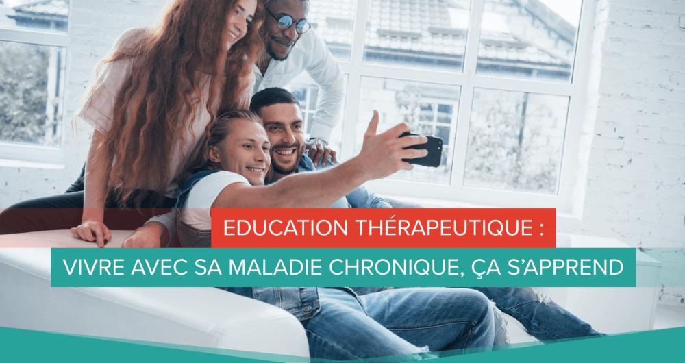 education therapeutique : vivre avec sa maladie chronique