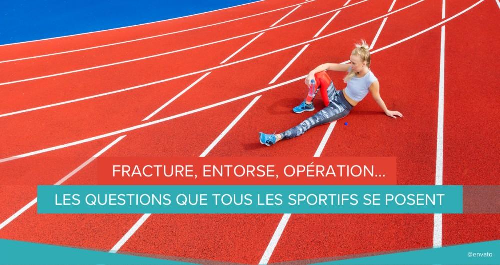 fracture entorse operation sportifs