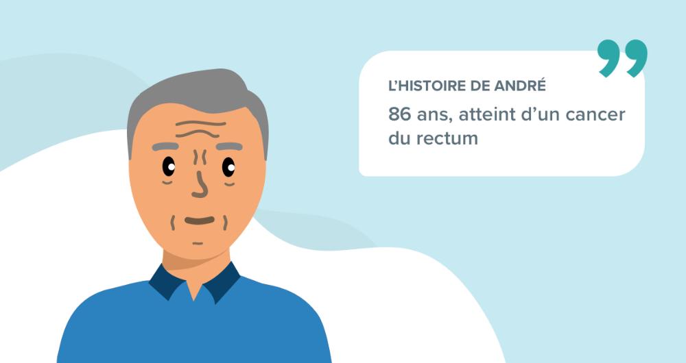 L'histoire d'André, 86 ans, atteint d'un cancer du rectum