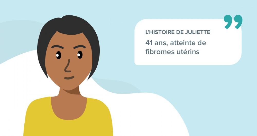 L'histoire de Juliette, 41 ans, atteinte de fibromes utérins