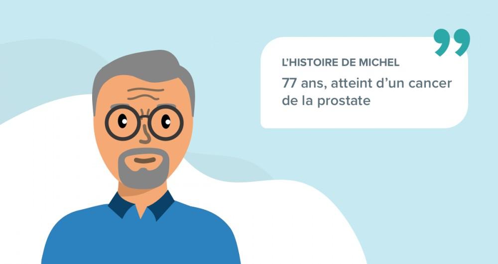 L'histoire de Michel, 77 ans, atteint d'un cancer de la prostate