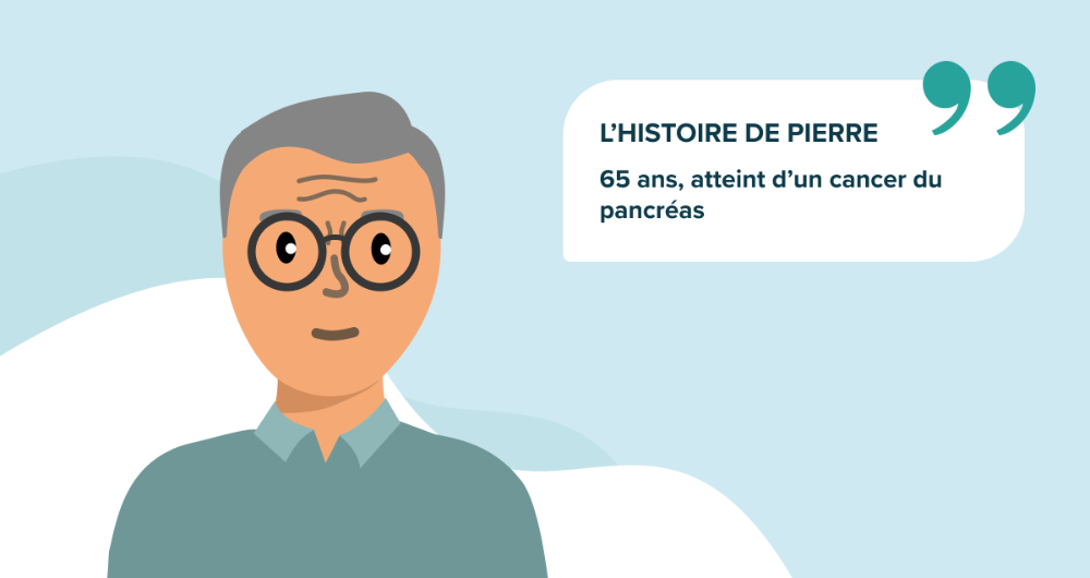 L'histoire de Pierre, 65 ans, atteint d'un cancer du pancréas