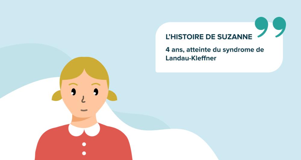 L'histoire de Suzanne, 4 ans, atteinte du syndrome de Landau-Kleffner