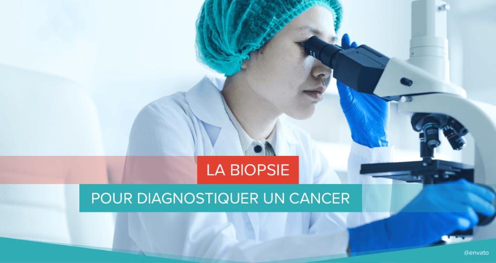 La biopsie pour diagnostiquer un cancer