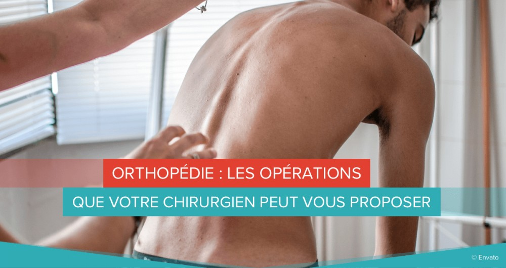 orthopédie opérations chirurgie