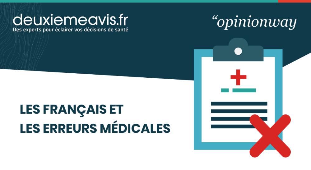 Sondage : les Français face aux erreurs médicales